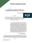 Artículo - Durán Muñoz, Rafael - La Literatura Sobre Los Nuevos Movimientos Sociales