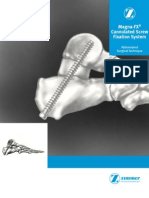 Magna Fx Cannulated Screw Fixation Sytem Abbreviated Surgical Technique