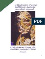 Ww Da Policy Paper 2011