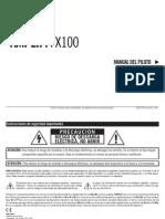 Guide Amplifi FX100 - Spanish