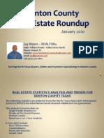 Denton County Real Estate Roundup January 2010
