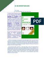 El Proceso de Investigación (Carlos Sabino)