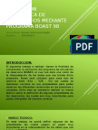 Simulacion Matematica de Reservorios Mediante Programa Boast 98
