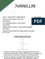 Biovanillin