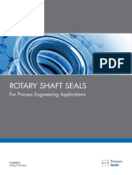 Rotary Shaft Seals for Process Engineering Applications