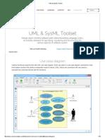 UML & SysML Toolset