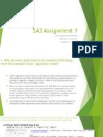 SA3 Assignment 1