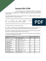 European Standard en 13706