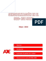 Sensibilización en El SGC 2014