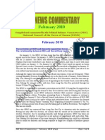 PDC News Commentary ~ February 2010 (ENG)