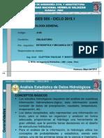 Clases de Hidrología General_Semana 05_ FICA_UNHEVAL
