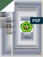 Cekungan Dan Formasi Batubara Di Kalimantan Tengah