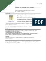 Xcel Formulas File