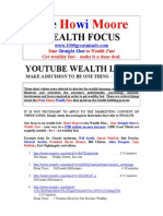 youtube wealth links