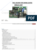 Q60AR Control Board - Single Swing Gates.pdf
