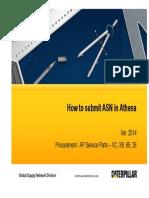 EDI (Athena) - ASN Instruction - XC, XB, 85, 26 (Ver. 201408-2)