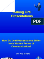 Making an Oral Presentation.ppt