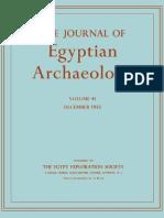 Journal of Egyptian Arheology - Volume 41