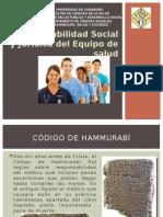 Responsabilidad Social y Jurídica Del Equipo de Salud