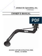 Uas Owners Manual Xa Extraction Arm