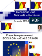 1 Decembrie Ziua Naţională A