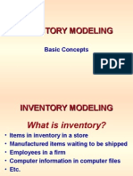 INVENTORY -- Basic Concepts