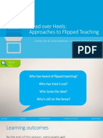 Head Over Heels- Approaches to Flipped Teaching