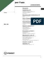 Manuale Lavatrice INDESIT WIL126