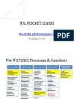 ITIL Pocket Guide