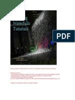 Cascadas de Sistema de Partículas 3D Max