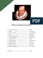 Programa 1º Época Cervantes