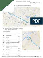 Jammu Airport to Chamba Palace