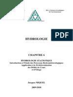 6 PolyHydrologie Statistique 2009