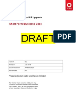 Plant SIS Upgrade - Short Form Business Case v0 2.docx