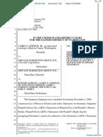 Gordon v. Impulse Marketing Group Inc - Document No. 122