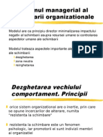 Programul Managerial Al Schimbarii Organizationale