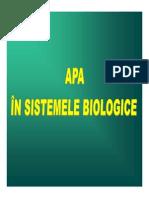 2. Apa in Sisteme Biologice