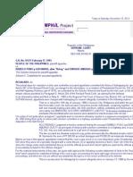 P vs. Puno, G.R. No. 97471. February 17, 1993; Regalado, J., 219 SCRA 85