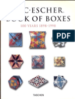 M. C. Escher Book of Boxes - 100 Years 1898-1998