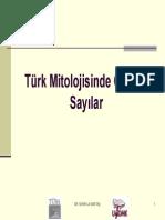 Türk Mitolojisinde Önemli Sayılar