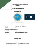 Análisis Granulométrico de Agregados Gruesos y Finos