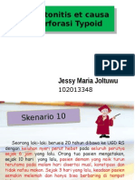 Peritonitis Et Causa Perforasi Typhoid Ppt
