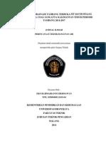 Perencanaan Drainase Tambang Terbuka Pit South Pinang PT. Kaltim Prima Coal Sangatta Kalimantan Timur Periode Tambang 2014 2017 Eko Rahmadianto Hermawan 10506040011018