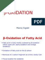 Beta Oxidation