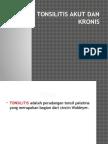 Tonsilitis Akut Dan Kronis