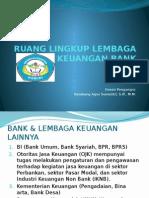 1 Ruang Lingkup Lembaga Keuangan Bank