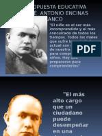 PROPUESTA EDUCATIVA DE JOSE ANTONIO ENCINAS