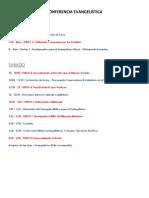 Agenda Para La Conferencia - 2 Dias 2 Horas Viernes 7 Sabado
