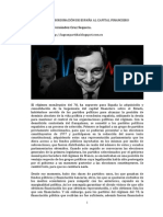 La subordinación de España al capital financiero