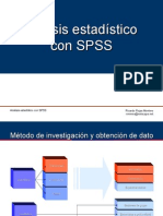 Análisis Con SPSS / Statistical Analysis using SPSS